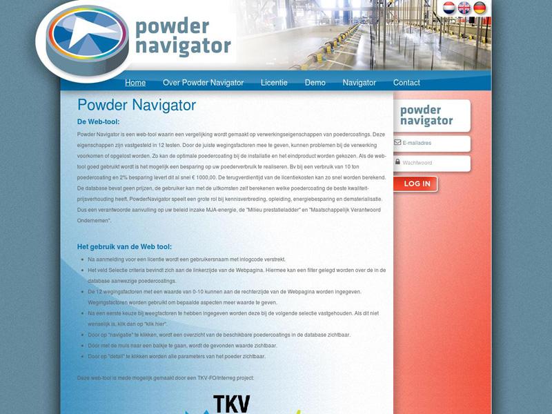 Powder Navigator